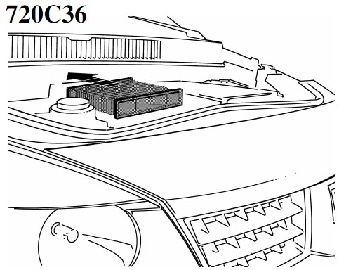 diffusion d 39 air filtre pollen filtre habitacle 720c36. Black Bedroom Furniture Sets. Home Design Ideas