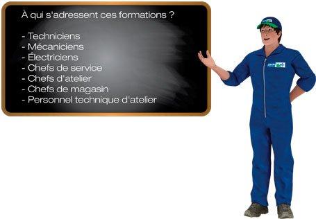 Techniciens - Mécaniciens - Électriciens - Chefs de service - Chefs d'atelier - Chefs de magasin - Personnel technique d'atelier