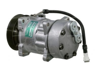 Compresseur Sanden Fixe R134a SD7H15 TYPE : SD7H15   6453P9 - 9614674380   1.1038 - 1201818 - 58598 - 699020 - 7402096 - 7854 - C8807294A - CP178598 - TSP0155041