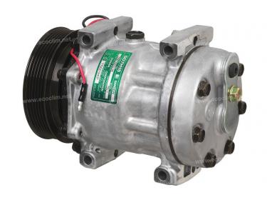 Compresseur Sanden Fixe R134a SD7H15 TYPE : SD7H15   7700272437   1.1138 - 58506 - 699042 - 7917 - CP185061 - DE50010
