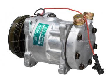 Compresseur Sanden Fixe R134a SD7H15 TYPE : SD7H15 | 6025107881 | 32132G - 62015109A - 7899 - 8084