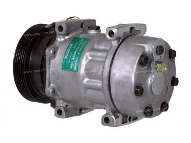 Compresseur Sanden Fixe R134a SD7H15 TYPE : SD7H15   7700111036   1201641 - 675132 - 699092 - 8075 - C8807358A - CP18015