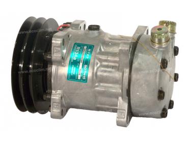 Compresseur Sanden Fixe R134a SD7H15 TYPE : SD7H15 | 7645813 - 7746258 | 1201803 - 40450031 - 675322 - 699584 - 7829 - C8807218A - TSP0155039