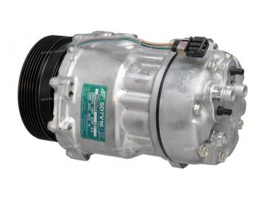 Compresseur Sanden Variable SD7V16 TYPE : SD7V16   1J0820803A - 1J0820803L - 1J0820805   1206 - 1221 - 1231 - 32064 - 685051 - 699100 - 7402093 - C8807326A - CP26001 - TSP0155060