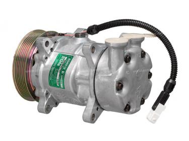Compresseur Sanden Variable SD6V12 TYPE : SD6V12   6453CN - 6453JG   1412 - 699190 - C8807344A - CP07002