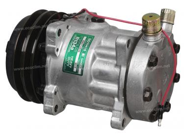 Compresseur Sanden Fixe R134a SD7H15 TYPE : SD7H15 | 11444184 - 3269930 - 9385600 | 20-07867 - 5800011 - 6036 - 8018 - 8258 - C8807422A - CD056