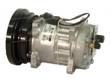 Compresseur Sanden Fixe R134a SD7H15 TYPE : SD7H15   3641450 - 3641530   4608 - 78577