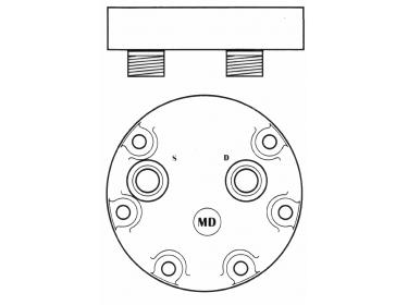 Compresseur Sanden Fixe R134a SD7H15 TYPE : SD7H15 R134a | 4894306 - 504185596 - 714/40477 - 71440477 - 8500795 | 40405099 - 68145 - 8090 - 8144 - 8278 - C8807333A - CP248