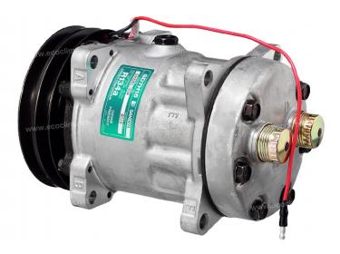 Compresseur Sanden Fixe R134a SD7H15 TYPE : SD7H15 | | 7819 - 8021 - C8807500A