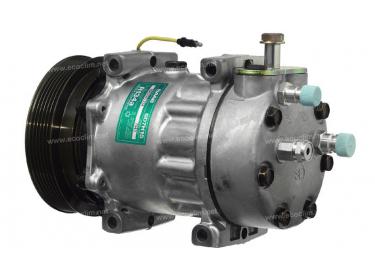 Compresseur Sanden Fixe R134a SD7H15 TYPE : SD7H15 | 4319240 | 1201850 - 7943 - C8807426A - CP20103