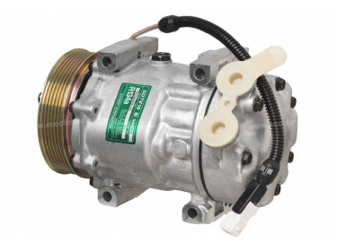 Compresseur Sanden Variable SD7V16 TYPE : SD7V16 | 6453CL - 71721765 - 9626902180 | 1211 - 1237 - 68584 - 699699 - CP07003 - PEK036 - TSP0155273
