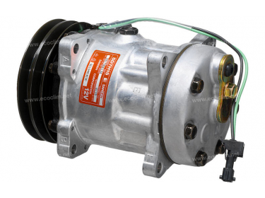 Compresseur Sanden Fixe R134a SD7H15 TYPE : SD7H15 | 5010483030 | 8119 - C8807433A