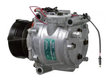Compresseur Sanden Fixe R134a TR... TYPE : TRS105 | 4635892 | 1201226 - 3211 - 32165 - 699316 - 920.20127 - C8807395A - CP20601 - SBK053 - TSP0155287