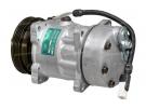 Compresseur Sanden Fixe R134a SD7H15 TYPE : SD7H15 | 6453P8 | 58530 - 699027 - 7853