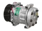 Compresseur Sanden Fixe R134a SD7H15 TYPE : SD7H15 | 7700272437 | 1.1138 - 58506 - 699042 - 7917 - CP185061