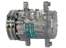 Compresseur Sanden Fixe R134a SD7B10 TYPE : SD7B10   0.007.7197.4 - 000771974 - 01066110 - 3164540 - 714404393 - 771974 - 8504059   1201583 - 20-10072 - 509-372 - 7150 - 7170 - C8807209A - CP00502 - CP032