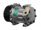Compresseur Sanden Fixe R134a SD7H15 TYPE : SD7H15 | 7700112299 - 7700867841 | 699057 - 8078 - CP18009