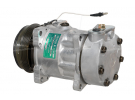 Compresseur Sanden Fixe R134a SD7H15 TYPE : SD7H15 | 7700861150 | 576562 - 699106 - 7816 - CP18005