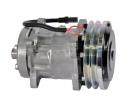 Compresseur Sanden Fixe R134a SD7H15 TYPE : SD7H15   134684458 - 194121A1 - 1999755C2 - 1999755C3 - 47773024 - 86993462   20-04609 - 4478 - 4609 - 509-560 - 78551 - C8807577 - CP022 - CP55551