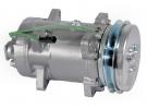 Compresseur Sanden Fixe R12 SD510 TYPE : SD510 | 7T8600 | 5754 - 68573 - CP404
