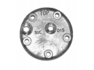 Compresseur Pièces détachées compresseurs Culasse SANDEN (K) |  | 1203039 - 9034-9630