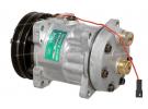 Compresseur Sanden Fixe R134a SD7H15 TYPE : SD7H15 | 001103234 - 3550921M91 - 6005016248 - 85817170 - A7010647 | 7851 - 78569 - C8807206A - CP002-1 - CP00533