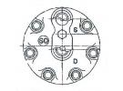 Compresseur Sanden Fixe R134a SD7H15 TYPE : SD7H15 | 5001845312 - 5010237488 | 7913 - C8807429A