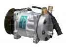 Compresseur Sanden Fixe R134a SD7H15 TYPE : SD7H15 | 81619066012 | 1201260 - 40405137 - 43267 - 6008 - 8117 - 813014 - 8FK351135141 - C8807415A - CP55110 - MNK048 - TSP0155813