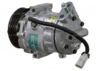 Compresseur Sanden Variable SD6V08 TYPE : SD6V08 | 6854021 - 9114942 | 1511 - 1550 - 58726 - 699309 - C8807367A