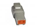 Composant électrique Connecteur DEUTSCH Receptacle RECEPTACLE 2 VOIES DT04-2P |  |