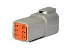 Composant électrique Connecteur DEUTSCH Receptacle 6 VOIES DT04-6P |  |