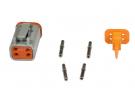 Composant électrique Connecteur DEUTSCH Kit 4 VOIES DT06-4S |  |