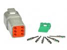 Composant électrique Connecteur DEUTSCH Kit 6 VOIES DT04-6P |  |