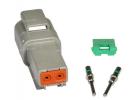 Composant électrique Connecteur DEUTSCH Kit 2 VOIES DT04-2P |  |