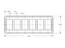 Composant électrique Interrupteur Carling Technologies  |  |