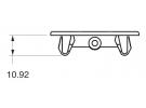 Composant électrique Interrupteur Carling Technologies OBTURATEUR BLOC CONTURA 5 |  |