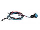 Composant électrique Interrupteur  ROND BLEU + ECROU |  |