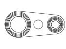 Flexible et joint Joint Standard JOINT POUR BRIDE | | 21-84610 - 24138
