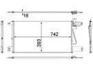 Echangeur Condenseur OEM | 1752264 | 0822.2013 - 35790 - 8880400520 - SC5034