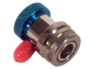 Tools and consumable Load valve VANNE BLEU R134a BP COURTE 1/4 |  |