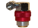 Tools and consumable Load valve RACCORD R134A HP 360° |  |