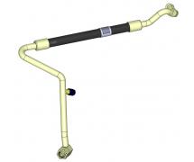 Flexible et joint Flexible origine OEM Tuyau climatisation BP CNH