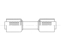 Raccord A sertir acier diamètre réduit Manchon MANCHON A SERTIR