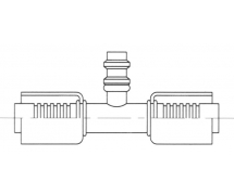Raccord A sertir alu flexible standard Prise de pression PRISE DE PRESSION R134a