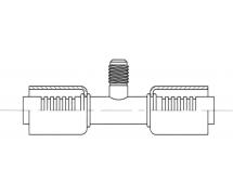 Raccord A sertir alu flexible standard Prise de pression PRISE DE PRESSION R12