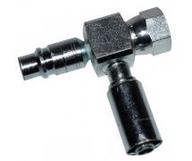 Raccord A sertir acier diamètre réduit Droit FEMELLE ORING PP 1234YF