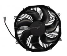 Ventilateur Aspirant 12V SPAL - Ø = 385 - EPAIS = 86