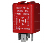 Electric component Relay TEMPO 24V PREREG 60 ON/900 OFF