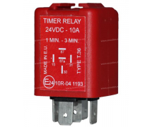 Electric component Relay TEMPO 24V PREREG 60 ON/180 OFF