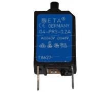 Composant électrique Coupe circuit DISJONCTEUR REARMABLE 0.2A
